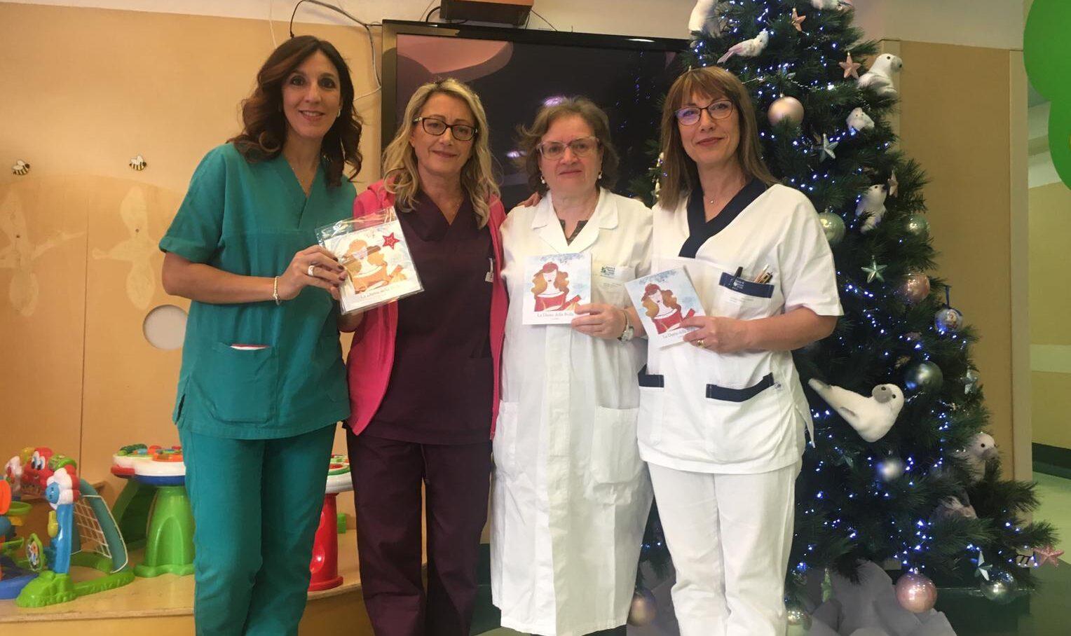 L'Aquila, pediatria: donate favole sulla Dama della Bolla