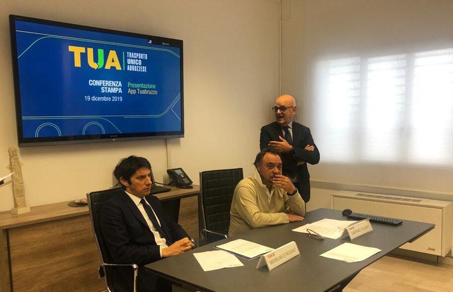 Presentata 'TUAbruzzo', la nuova applicazione di TUA senza costi per l'Azienda