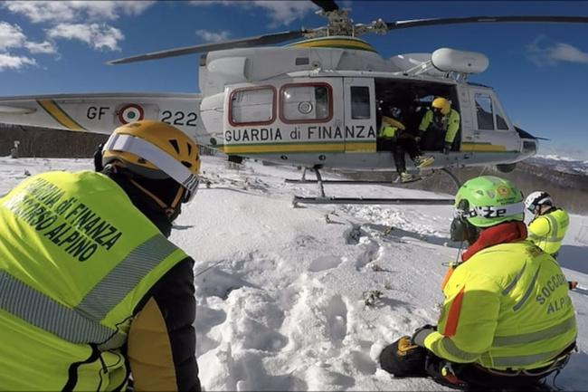 GdF concorso per il reclutamento di 33 tecnici del Soccorso alpino