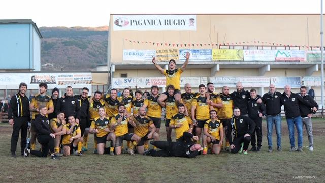 L'Avezzano rugby espugna Paganica, grande vittoria nel derby e primo posto in classifica