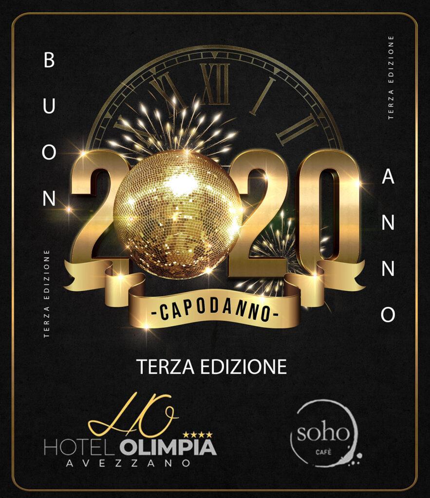 Capodanno 2020 dell'Hotel Olimpia in collaborazione con Soho Cafè, l'evento a cui non devi mancare
