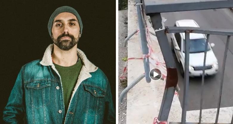Ruben Coco e i suoi video divertenti sui problemi di Avezzano