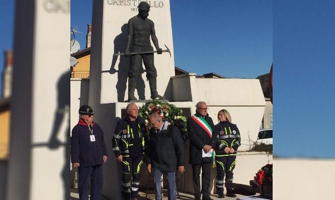 Capistrello, in tantissimi per festeggiare Santa Barbara quest'anno evento dedicato alla tragedia di Marcinelle