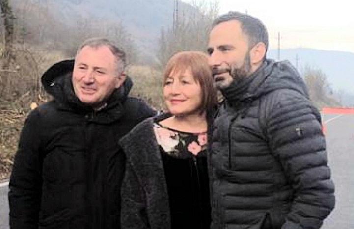 """Inaugurata questa mattina la Strada Provinciale S.P. n. 22 """"Circonfucense"""" che collega Avezzano con la Vallelonga"""
