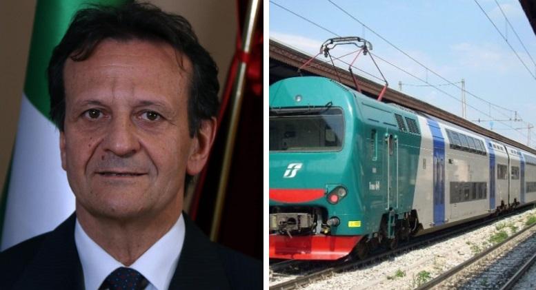 """Trasporti: D'Annuntiis scrive a Trenitalia, """"no modifica dell'orario tratte interregionali"""""""
