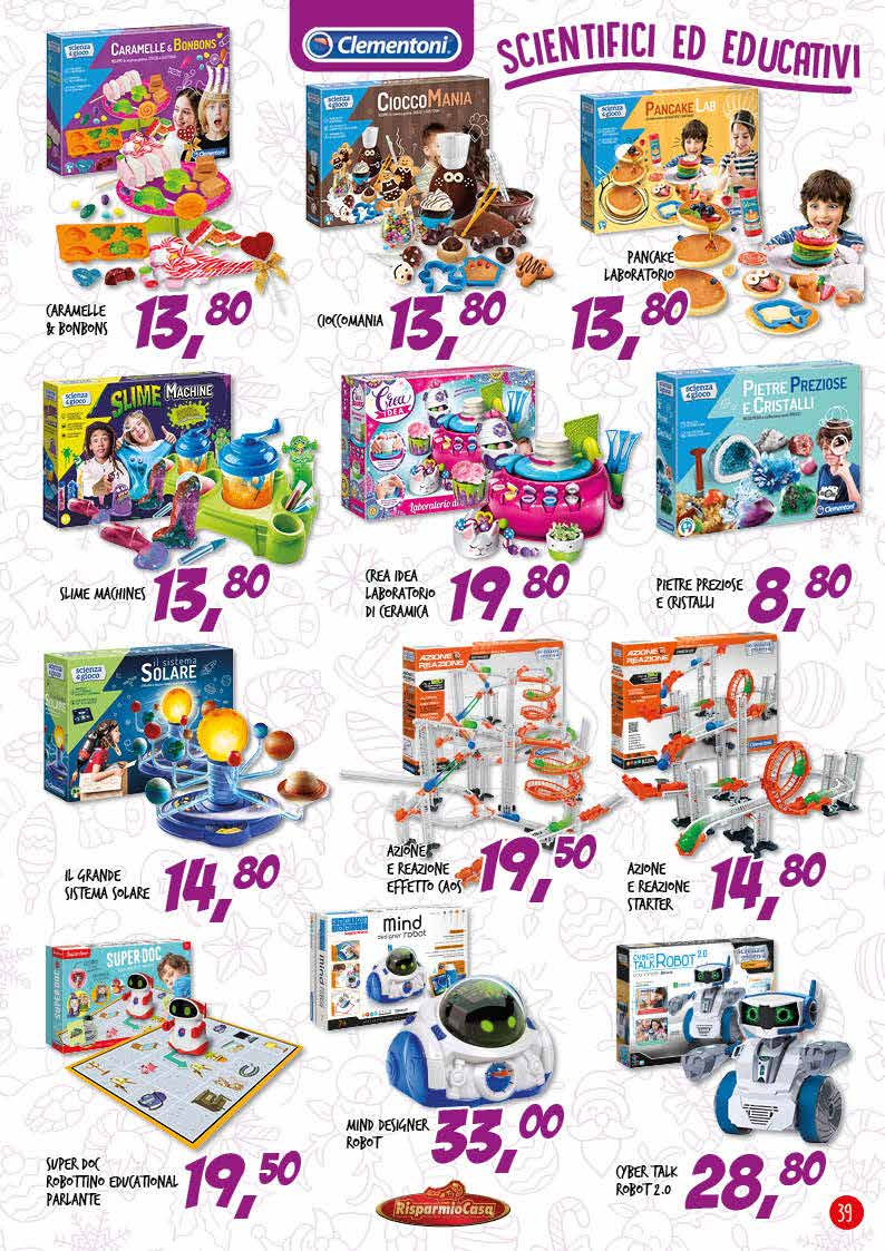 volantini giocattoli macchinine per bambini
