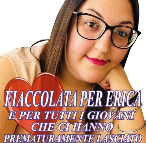 Una fiaccolata per Erica Nazzicone morta a soli 26 anni