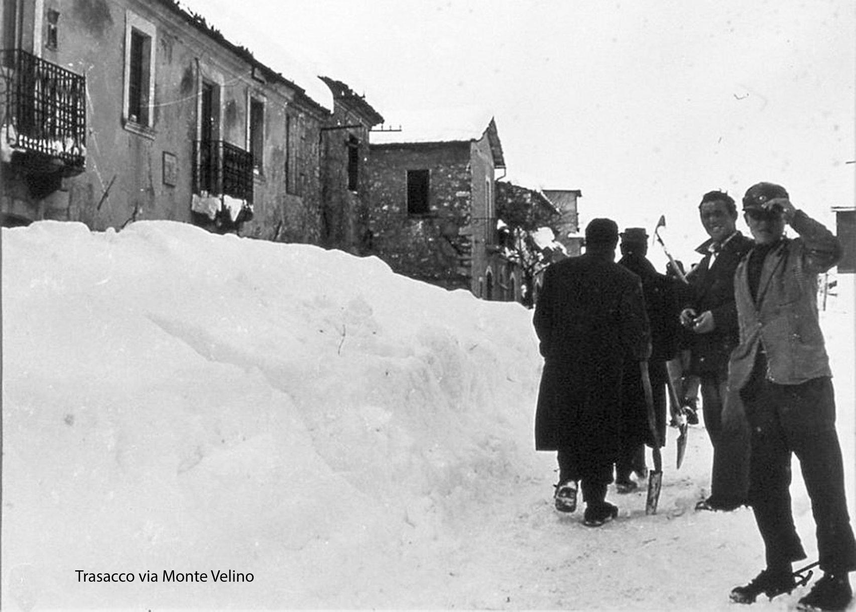 La neve del '56, un racconto di Tito Lucarelli
