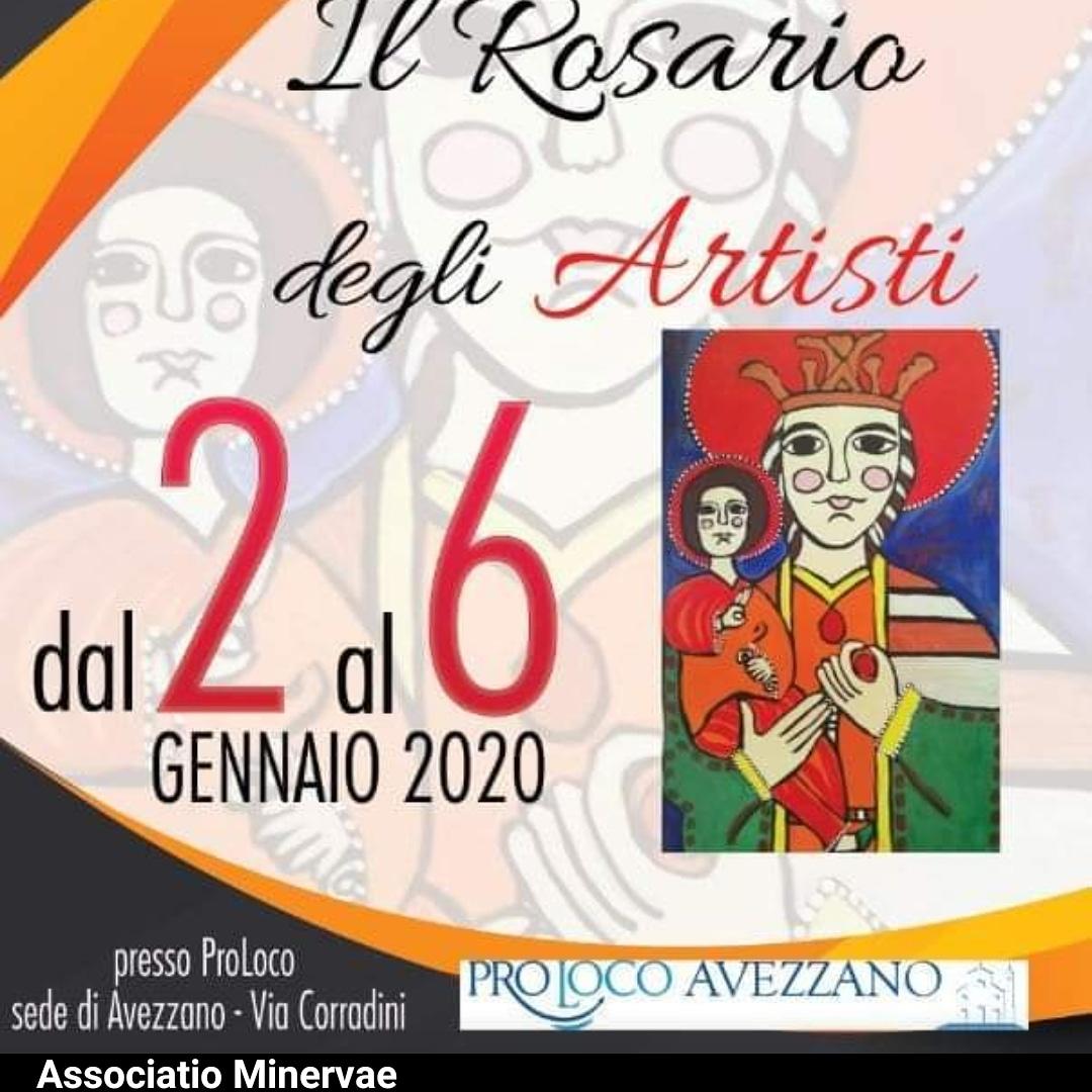 """L'Associatio Minervae presenta il """"Rosario degli Artisti"""""""