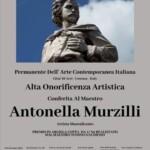 Alta onorificenza artistica per l'artista marsicana Antonella Murzilli