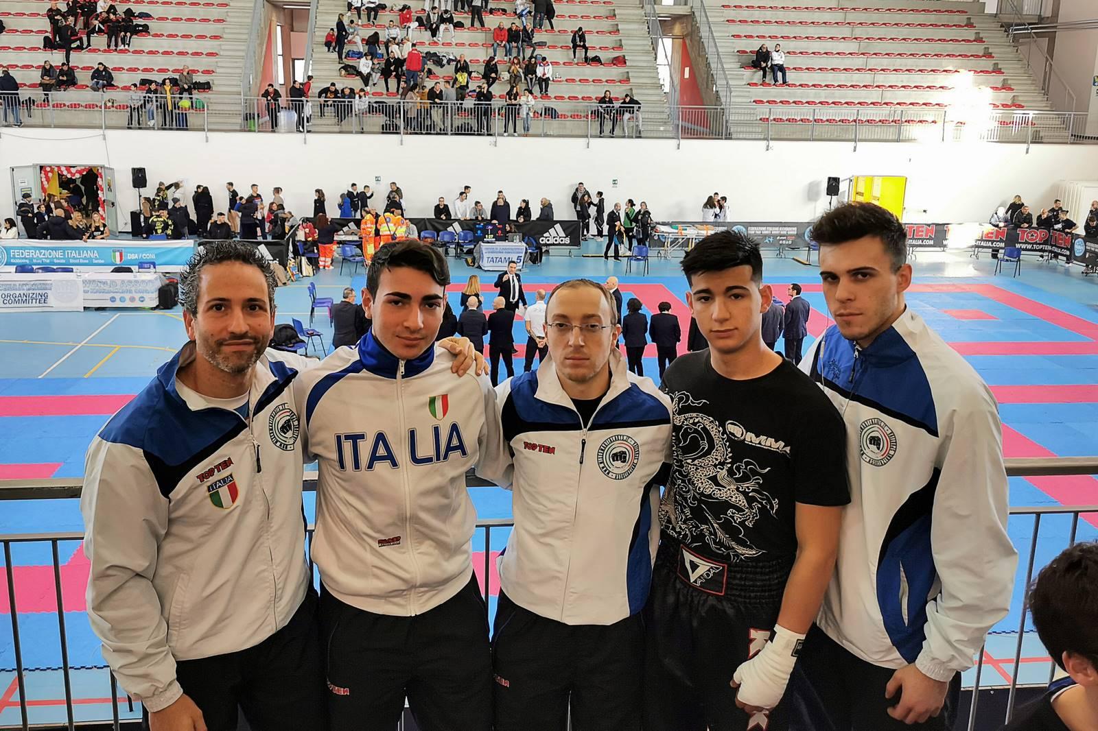 Di Girolamo e Di Profio vincono l'oro al campionato Interregionale di Kick Boxing