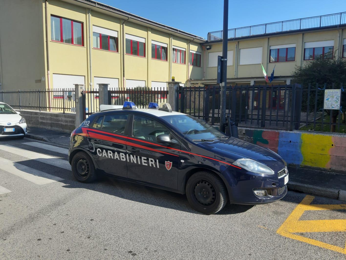 Viene arrestato mentre tenta di rubare un televisore dal muro di una scuola di Avezzano