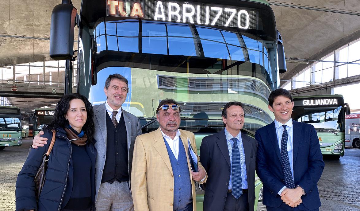 Venti nuovi busimmessi in servizio dalla TUA SpA