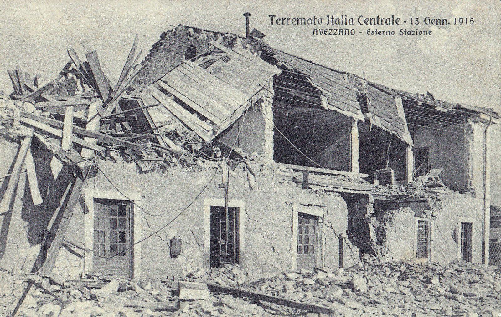 """Al parco dell'ex Arssa """"rivive"""" la notte di Avezzano. Domani, alle 21, documentario sul terremoto del 1915"""
