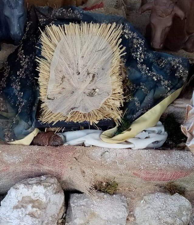 Presepe depredato a Celano, sparito Gesù Bambino