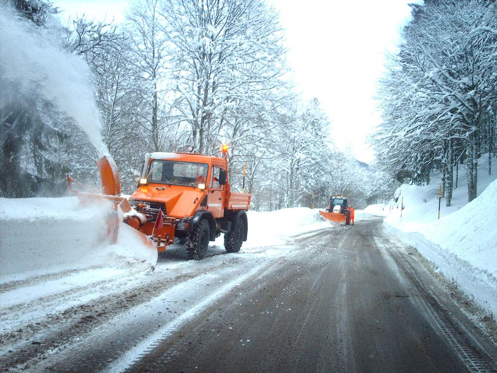 Accordo con i comuni per lo sgombro della neve sulle strade provinciali