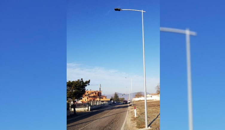 In arrivo l'illuminazione pubblica sulla SP 125 di Antrosano