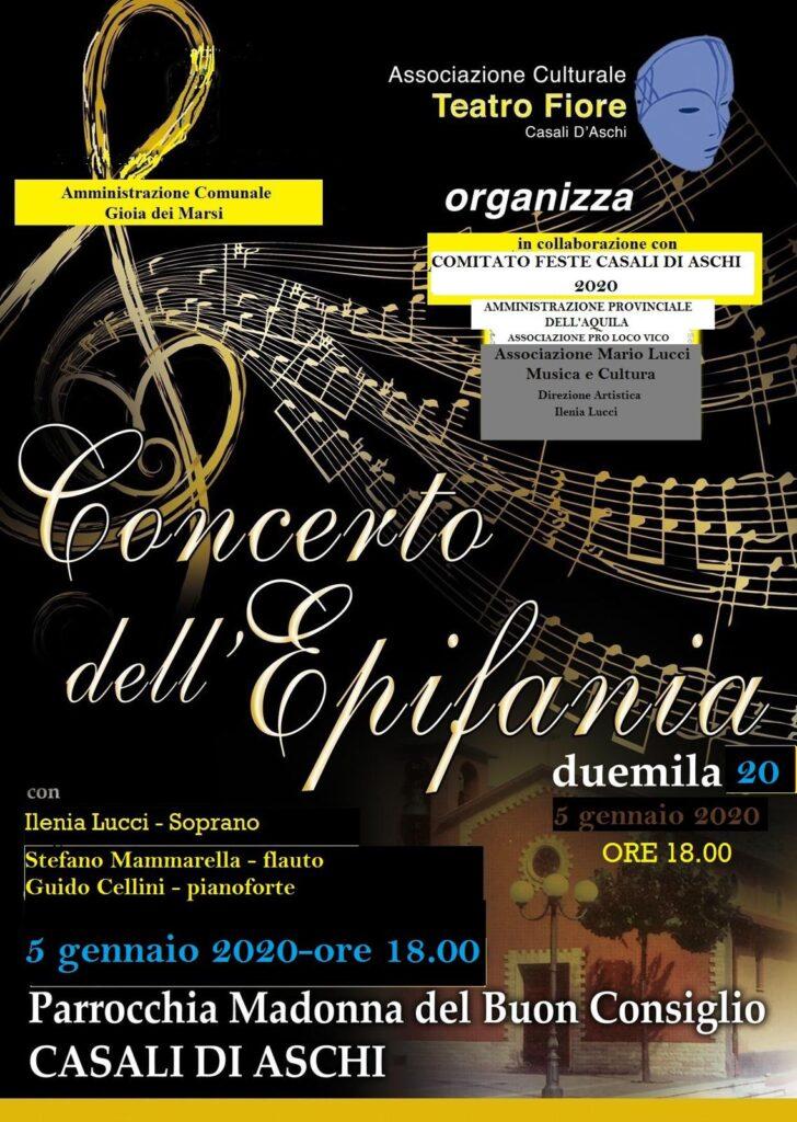 Concerto dell'Epifania con il soprano Ilenia Lucci