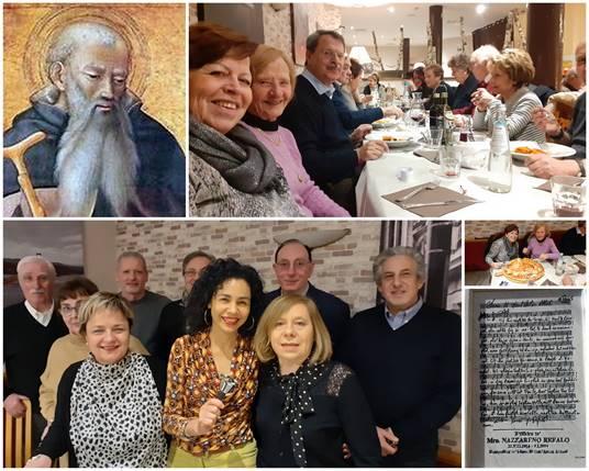 Gli Abruzzesi del Trentino Alto Adige hanno festeggiano Sant'Antonio Abate