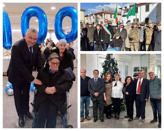 100 anni di Ugo Gigli, l'Esercito l'ha insignito della Medaglia Commemorativa della seconda guerra mondiale