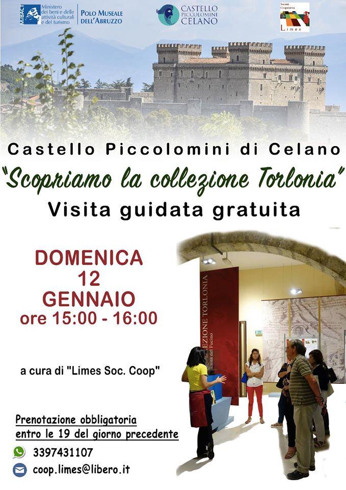 """""""Scopriamo la collezione Torlonia"""", al Castello Piccolomini un tuffo tra le meraviglie del passato"""