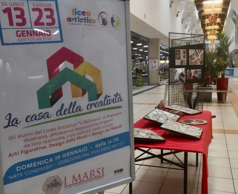 Liceo Artistico Bellisario tra esposizioni, open day e un anniversario speciale