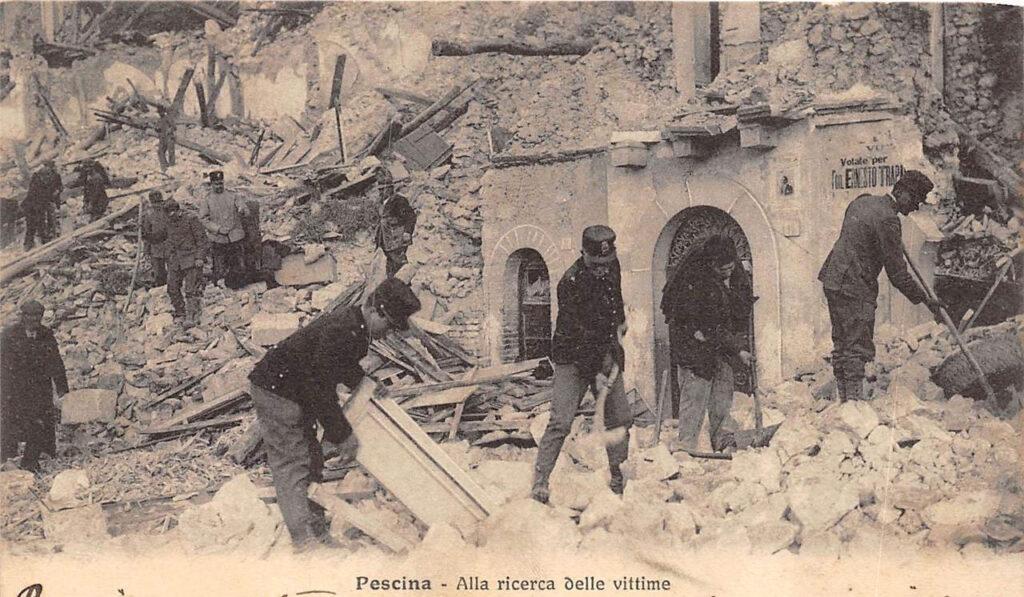 Terremoto del 1915, giornali e testimonianze dell'epoca