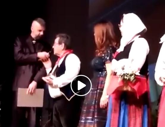 """Il marsicano Francesco Romanelli, Presidente del Coro di Roccavivi, è il """"Padre del Folklore"""" del 2019 per la Regione Abruzzo"""