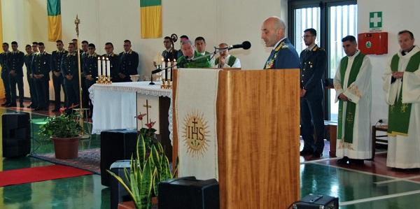 Mons. Santo Marcianò visita il Comando Regionale Abruzzo della Guardia di Finanza