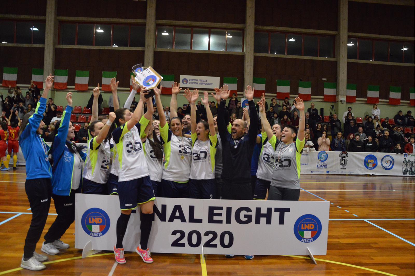 L'Orione femminile vince la Coppa Abruzzo