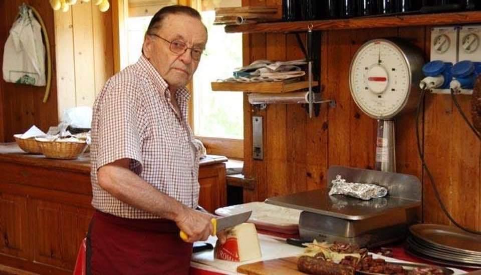 """Addio al ristoratore Renzo Fasciani, il papà del ristorante """"Renzo"""" di Scurcola Marsicana"""
