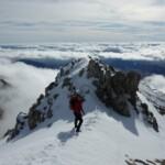 Dalla vetta del massiccio del Velino ammirando il magnifico panorama delle Terre d'Abruzzo