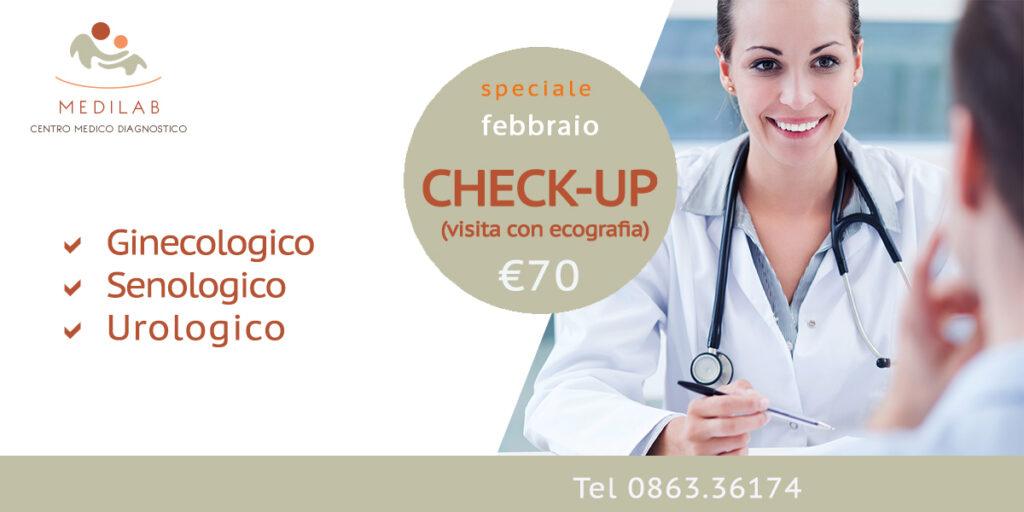 Medilab Speciale Febbraio Adulti : Visita + Ecografia