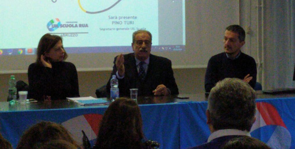 """Scuola, partecipata assemblea questa mattina ad Avezzano. Uil """"Governo sordo ad ogni richiesta, siamo pronti a dare battaglia"""""""