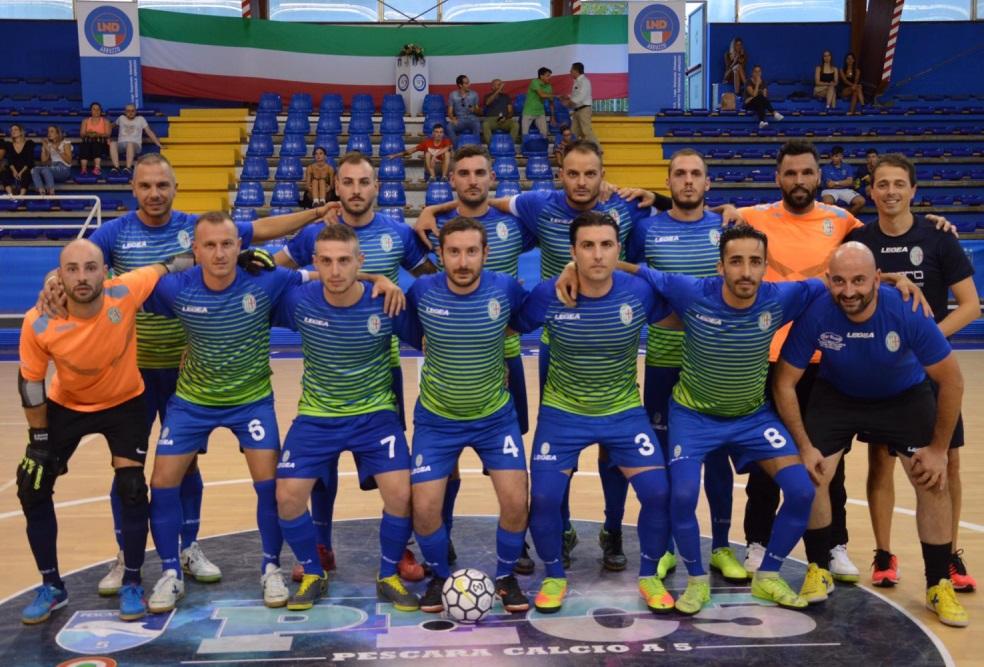 Calcio a 5: l'Orione domina nella trasferta di Chieti