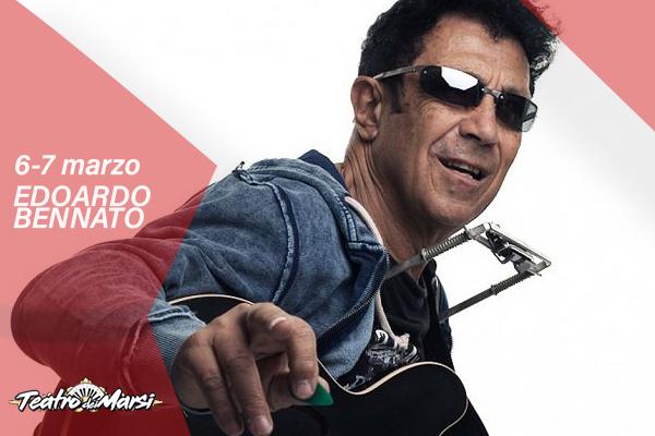Edoardo Bennato in concerto ad Avezzano