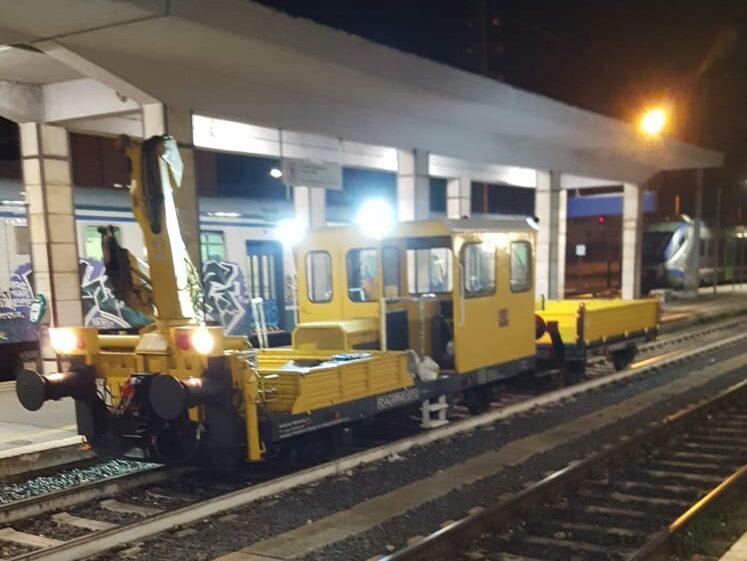 Lavori in corso sulla linea ferroviaria Avezzano-Roccasecca