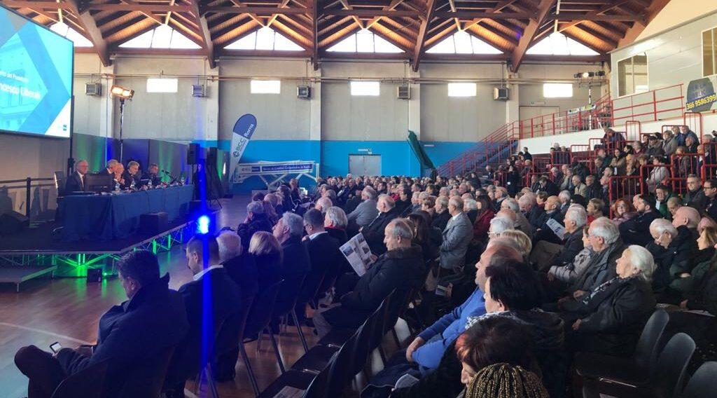 Celano riunione con oltre 500 soci dell'Abruzzo interno aquilano e Marsica