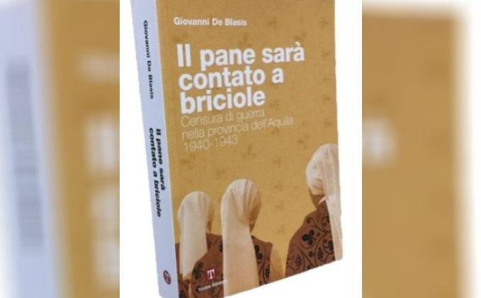 """Presentazione del libro """"Il pane sarà contato a briciole"""" dell'autore Giovanni De Blasis"""