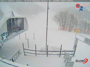 Finalmente arriva la neve anche nella Marsica, turismo invernale riparte di slancio