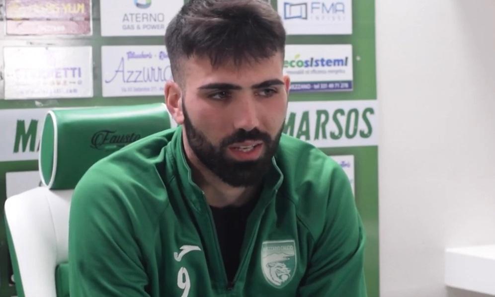 """Avezzano Calcio, Di Curzio: """"Il derby con la Vastese è molto sentito, ce la giocheremo senza paura"""""""