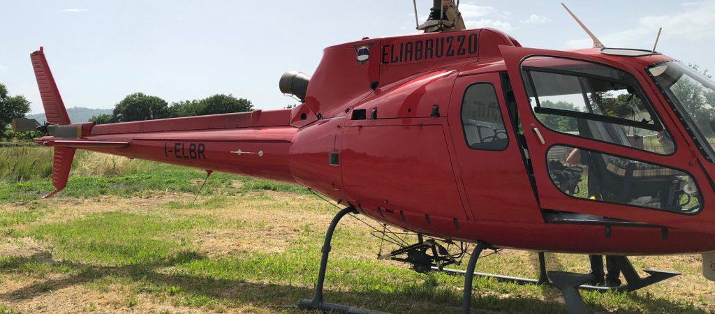 Elicottero rosso e black out, è in corso l'attività di verifica eliportata dei cavi aerei di media tensione sul territorio marsicano