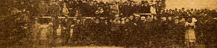 La grandiosa adunata fascista ad Avezzano e il solenne giuramento dei marsicani