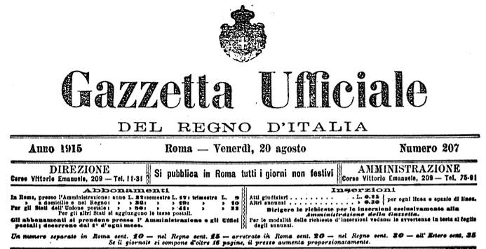 Il nome di Ignazio Silone nell'elenco degli orfani del terremoto del 1915