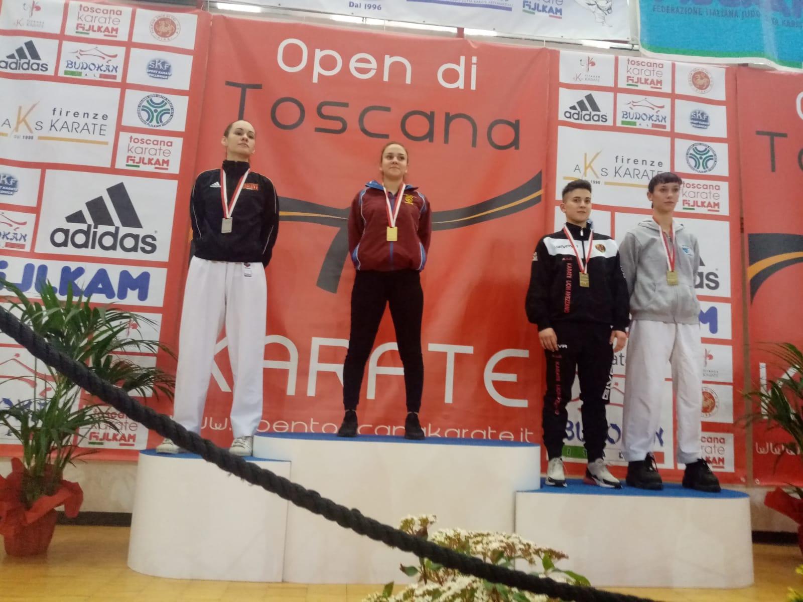 Una strepitosa Michela Paris conquista il terzo posto all'Open di Toscana