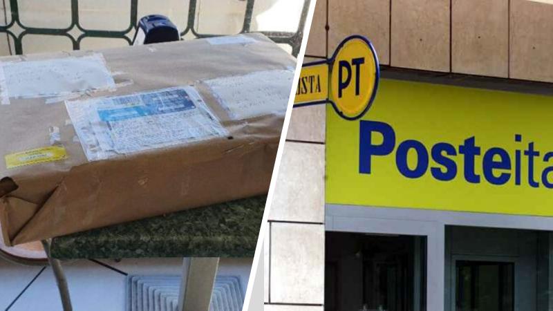 """Pacco ritrovato per strada, Poste Italiane: """"Ci scusiamo, presto verrà consegnato"""""""