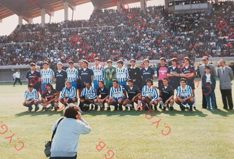 """Celano Calcio: 33 anni fa l'amichevole con il Pescara per inaugurare lo stadio """"F. Piccone"""""""