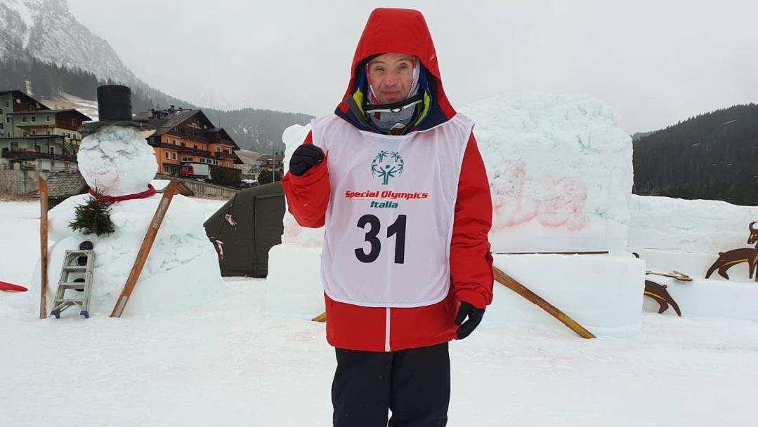 Oro e argento al marsicano Carletto Tudini agli Special Olympics Sappada 2020