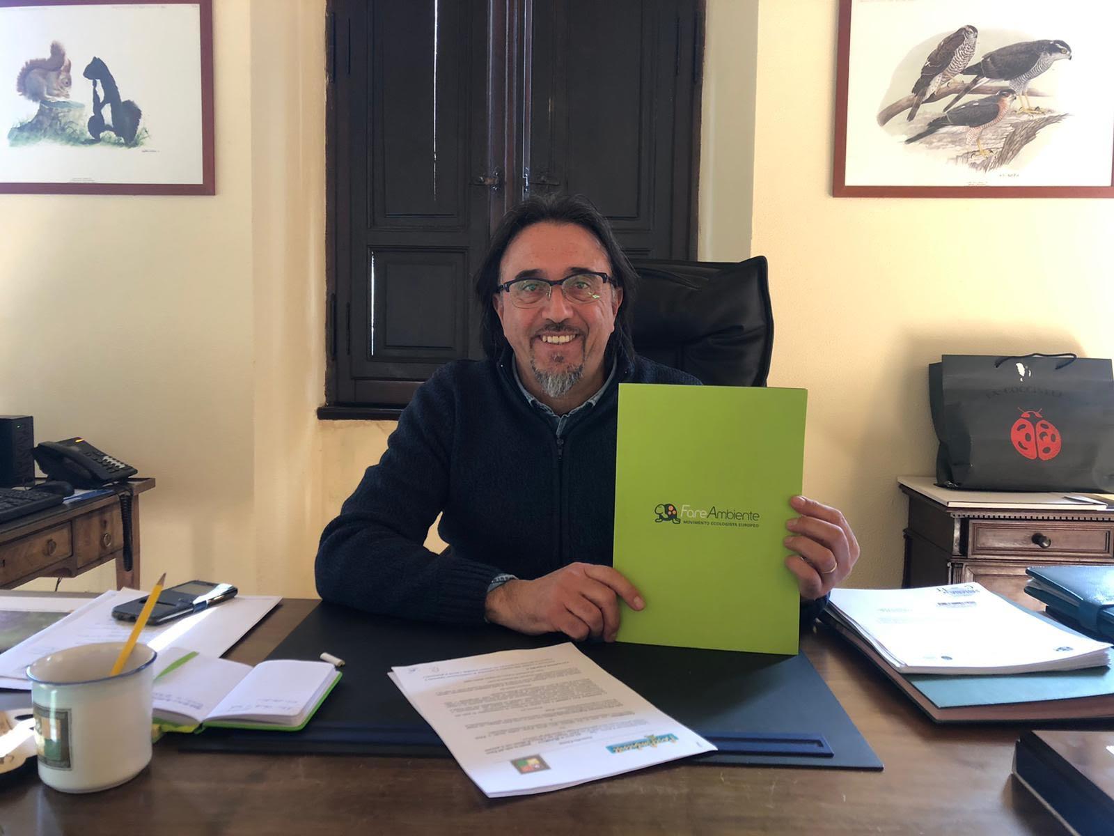 Firmato oggi il protocollo di intesa tra FareAmbiente Nazionale e il Parco Sirente Velino