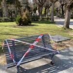 Chiusi parchi e giardini a Tagliacozzo. Sigillate le panchine